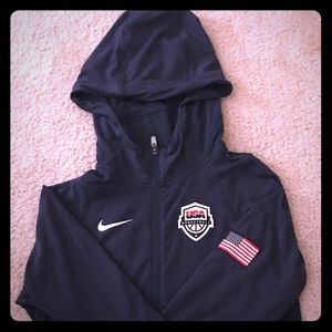 Nike Men's USA Basketball Hyper Elite Hoodie